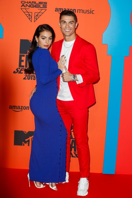 Cristiano Ronaldo Y Georgina Rodriguez Mtv Europe Music Awards 2019 2