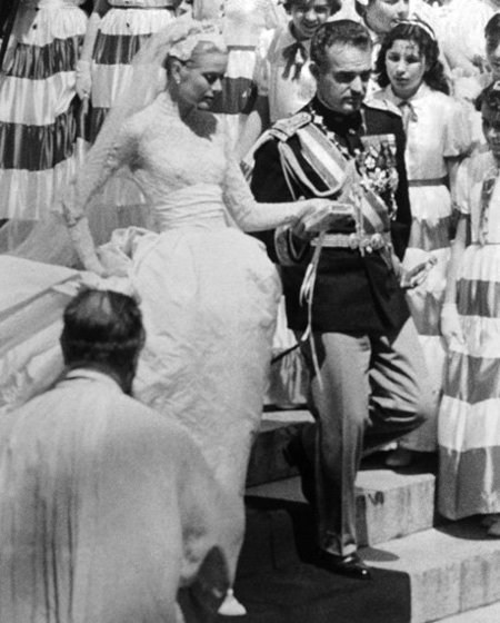 boda real de Rainiero y Grace Kelly