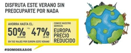 MÁSMÓV!L se desmarca de la mayoría de OMVs con su servicio de roaming europeo a precio rebajado