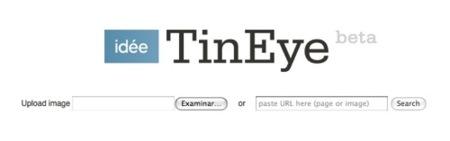 TinEye, buscando imágenes a raiz de otras imágenes