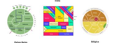 La discreta belleza de los mapas topológicos, cuando los países quedan reducidos a un diagrama