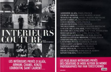 """""""Interieurs Couture"""", el libro que nos desvela las casas de los mejores diseñadores"""