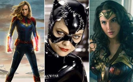 De Supergirl a Capitana Marvel: nueve justicieras que marcan el camino de las superheroínas en el cine