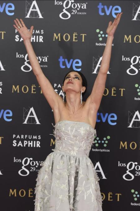 El Óscar de la Renta de Nerea Barros en los Premios Goya 2015
