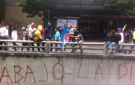 Manifestacion En Caracas Av Francisco De Miranda Caracas 22 De Junio De 2017