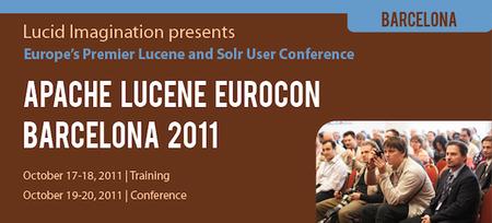 Más eventos de lujo en España: Apache Lucene EuroCon en Barcelona