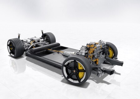 Porsche Taycan Bateria Y Sistema De Propulsion