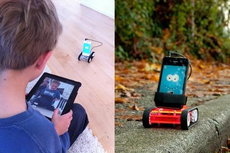 Romo, el robot de bajo coste que usa nuestro smartphone como cerebro