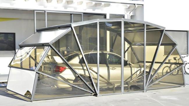 Con esta plaza de garaje luces coche y casa a la vez - Garaje para coches ...