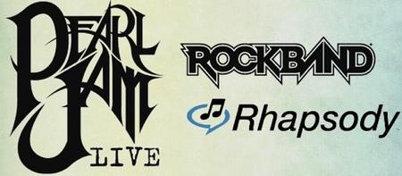 'Rock Band: Pearl Jam Live' en camino