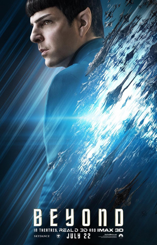 Foto de 'Star Trek: Más allá', nuevos carteles de los protagonistas (4/9)