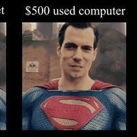 Este vídeo asegura que un ordenador de 500 dólares elimina el bigote de Superman mejor que los costosos efectos de Hollywood