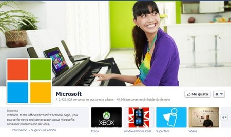Microsoft in Facebook