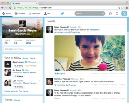 Twitter rediseña su versión web para que se parezca más a la de iOS y Android