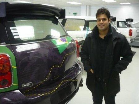Daniel Oliveira ya ha probado su nuevo Mini Countryman S2000