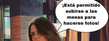 Bienvenidos al lujoso restaurante de Laura Matamoros: el menú incluye agua, pan y una ración de postureo