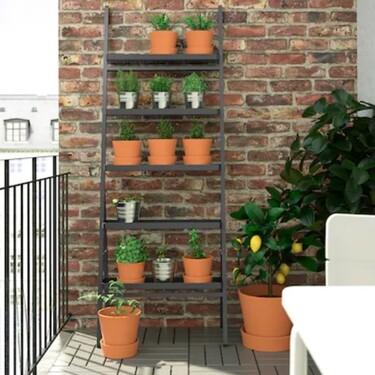Soportes para macetas de Ikea: la solución para convertir la casa o la terraza en el paraíso de las plantas