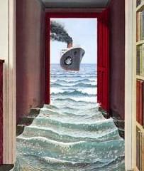 Transforma tu puerta f cilmente con un mural de papel pintado for Papel pintado para forrar puertas de armarios