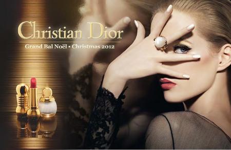Rojo y dorado, la combinación más navideña de Dior con su colección Grand Bal