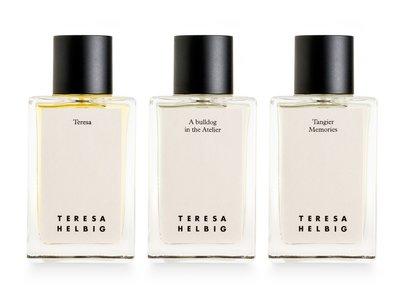 Los 20 años de la firma Teresa Helbig se celebran con tres nuevos perfumes