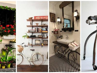 19 ideas decorativas para los amantes de las bicicletas