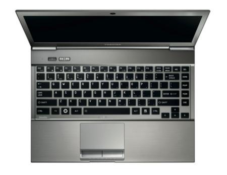 Toshiba portegé con teclado retroiluminado