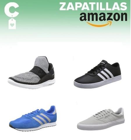 11 chollos en tallas sueltas de zapatillas Adidas para hombre a partir de 25 euros en Amazon