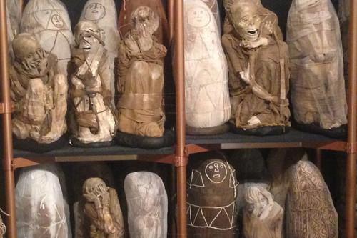 Más de doscientas momias integran el espeluznante museo de Leymebamba