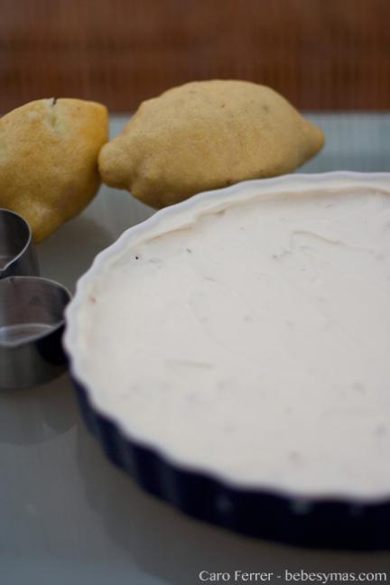 Cocinar con niños: receta de tarta de queso y limón