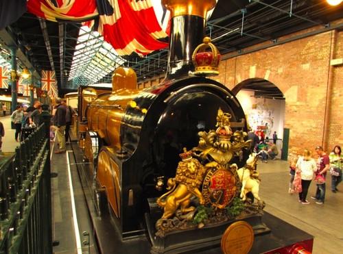 ¡Pasajeros, al tren! Visita al Museo Nacional del Ferrocarril en York