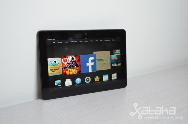 Foto de Amazon Kindle Fire HDX 8.9 (1/18)