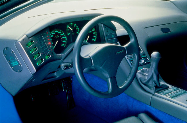 Peugeot Oxia, interior