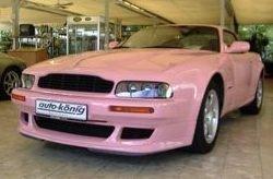Aston Martin Vantage V8 Pink-Power