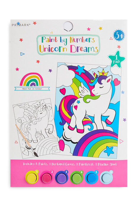 Paint By Numbers Unicorn Dreams Gbp1 50 Eur2
