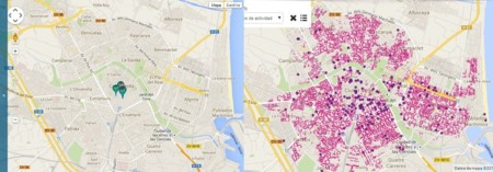 Puntos WiFi de Movistar y ONO en Valencia ciudad