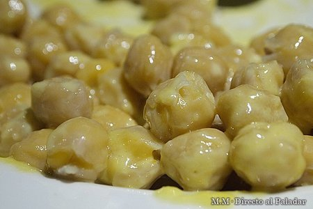 Garbanzos con all i oli