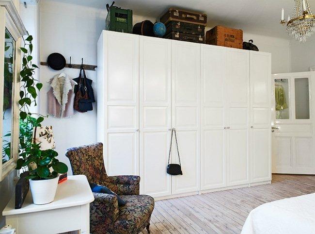 Dormitorio vintage otra vista