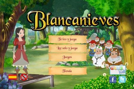 Cuento interactivo de Blancanieves para iOS y Android