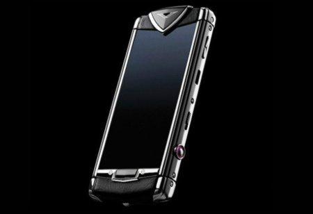 Vertu presenta su primer móvil con pantalla táctil