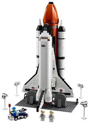 Nave espacial de Lego, adiós a la NASA y hola a tu salón