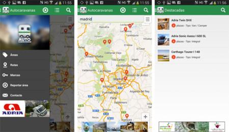 Autocaravanas para Android