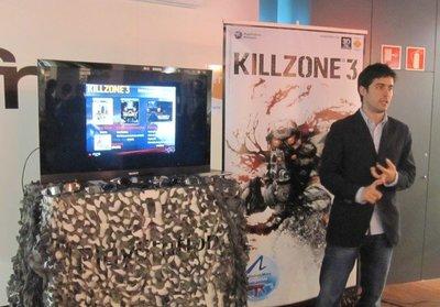 Presentaciones españolas de 'Killzone 3'