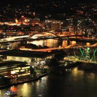 Espectacular time lapse de fuegos artificiales en Brisbane