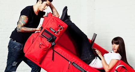 Backpack Sofa por Quinze&Milan y Eastpak