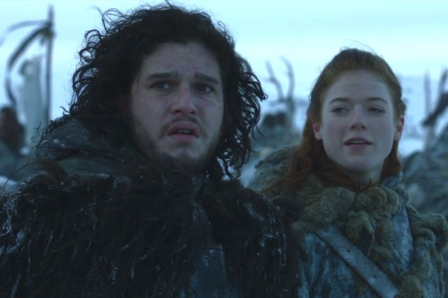 Kit Harington como Jon Snow en Juego de Tronos