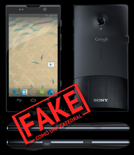 Sony Nexus X Fake