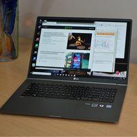 """LG Gram 17Z990-V de oferta a 1.367 euros en Amazon: un ultrabook con Core i7-8565U, 8GB RAM, SSD de 512 GB y panel 2K de 17"""""""