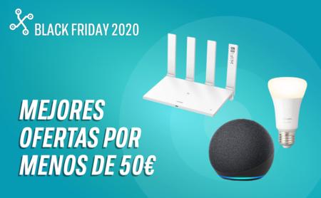 Black Friday 2020: 42 gadgets recomendados por menos de 50 euros en Amazon, eBay, El Corte Inglés, Media Markt y PcComponentes