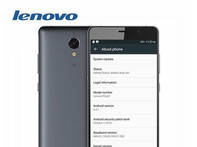 Código de descuento: Lenovo Vibe P2 C72 por 171 euros y envío gratis