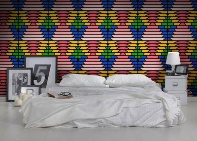 El papel pintado de Feathr creado por 'grafiteros', tatuadores y diseñadores de ropa de surf